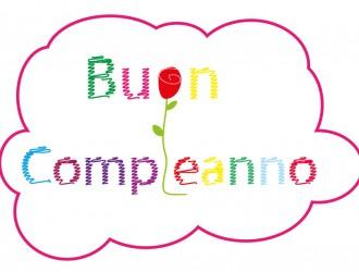 buon compleanno scarabocchio e rosa – scribbling happy birthday and rose