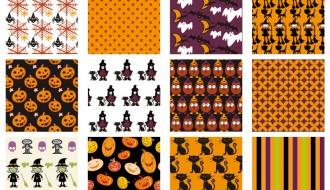 12 pattern Halloween