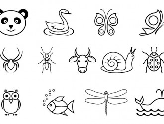 13 sagome animali – animals silhouette