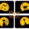 4 banner happy Halloween