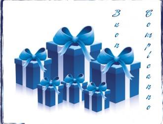 4 regali blu – blue gifts