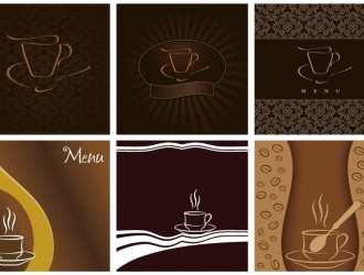 6 menu caffe' – coffee menu