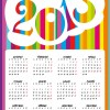 calendario 2013 colorato – colorful calendar 2013