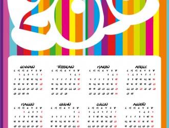 calendario 2013 colorato – colorful calendar 2013