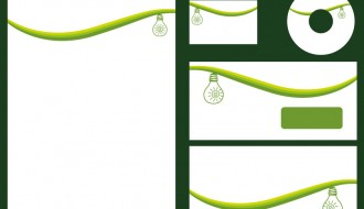 identità aziendale verde – green corporate identity