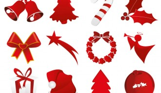 12 icone Natale – Christmas icons