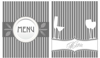 2 menu grigi – gray menu