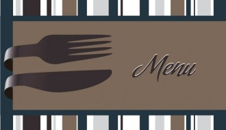 menu righe posate – menu lines and cutlery