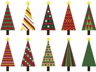 10 alberi di Natale – Christmas Trees