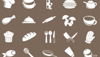 20 icone cibo – food icons