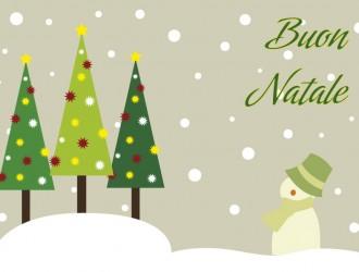 3 alberi Natale pupazzo di neve – Christmas trees snowman