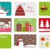 9 bigliettini Natale – Christamas card