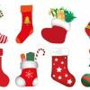 8 calze di Natale – Christmas stocking