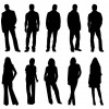 14 sagome persone – people silhouettes