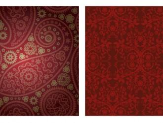 2 pattern damascati bordeaux – damask pattern