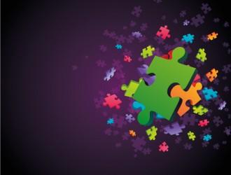 sfondo puzzle – puzzle background