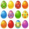 12 uova decorate – decorated eggs