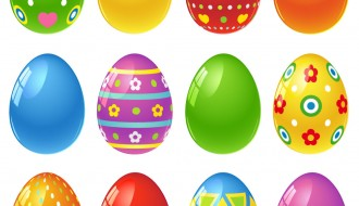 12 uova decorate – decorated eggs