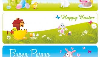 3 banner Pasqua – Easter banner