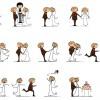 sposi – newlyweds cartoons