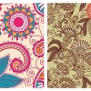 2 pattern vintage