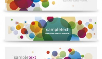 3 banner bolle – bubbly banners