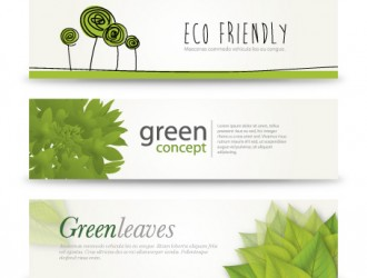 3 banner green – eco banner