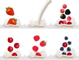 latte, frutta – milk, fruit