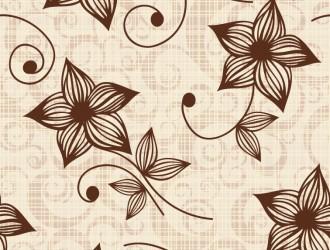 vintage sfondo floreale – Vintage Flower Seamless Background