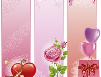 3 love banner – banner amore