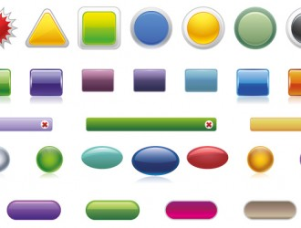 36 bottoni, pulsanti, buttons