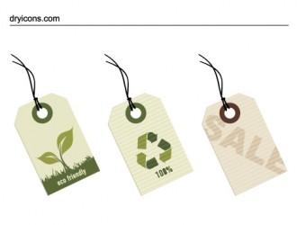 targhette ecologiche – eco tags