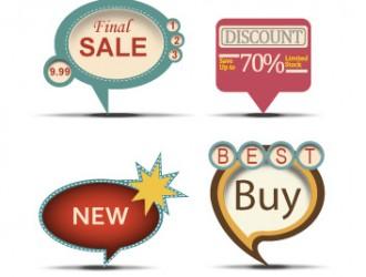 cartellini vintage – vintage sale labels