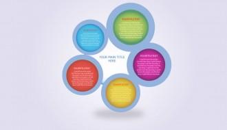 cerchi infografica – circles infographic