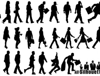 persone che camminano – walking people