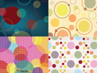 4 pattern cerchi – seamless circle pattern