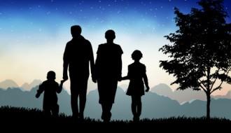 sagome famiglia – family silhouettes