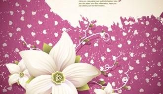sfondo fiori – flowers shading background