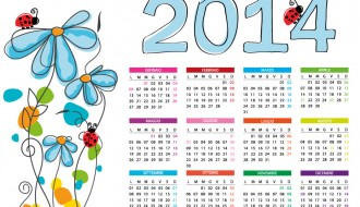 calendario 2014 – flower calendar