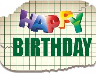 happy birthday paper – buon compleanno foglio