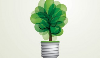 lampadina verde – green light bulb
