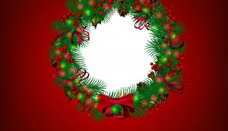 ghirlanda Natale – Merry Christmas Wreath
