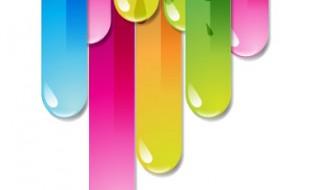 sfondo colorato – multicolor vector background