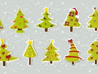 10 alberi Natale – 10 Christmas trees