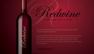bottiglia vino rosso – redwine bottle
