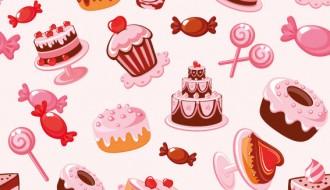 dolci pattern – sweets pattern