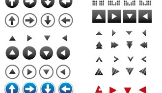 set icone frecce – icon_set_arrows