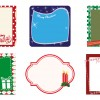 6 cornici Natale – 6 Xmas frames
