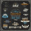 Christmas sale labels – targhette saldi Natale