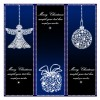 Merry Christmas stars ornaments – Natale decorazioni stelle